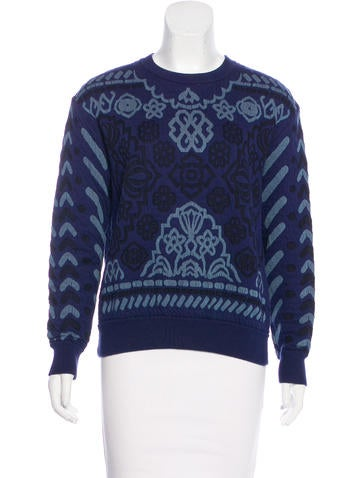 Stella McCartney Patterned Long Sleeve Sweatshirt None