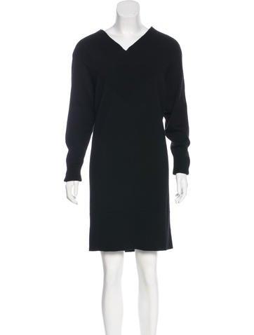 Stella McCartney Wool & Angora Dress None