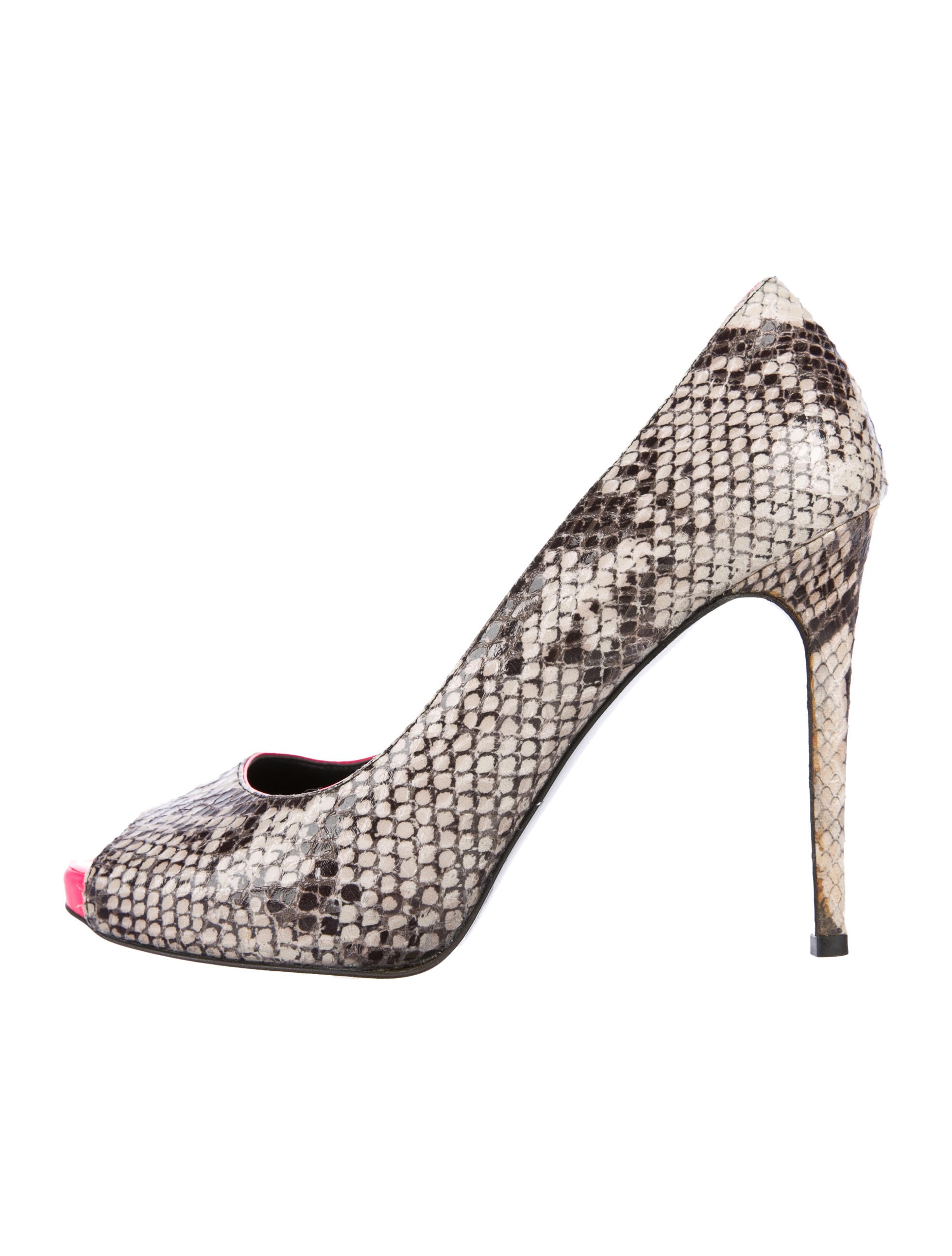 outlet with mastercard discount 100% guaranteed Stella McCartney Embossed Pointed-Toe Pumps pBfTE1