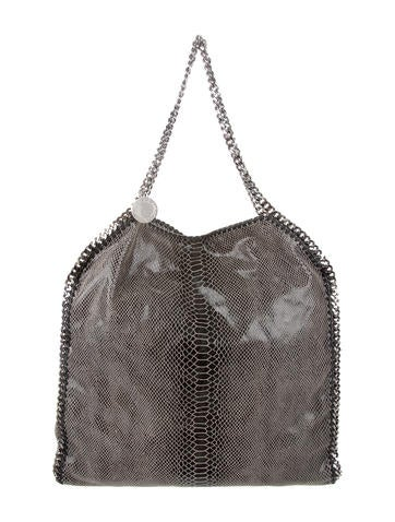 Stella McCartney Embossed Falabella Large Tote None