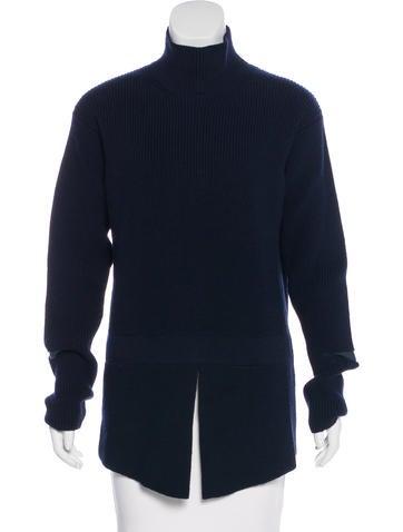 Stella McCartney Wool Cutout Sweater None