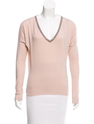 Stella McCartney V-Neck Wool Sweater None