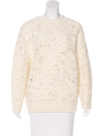 Stella McCartney Wool & Alpaca-Blend Sweater None