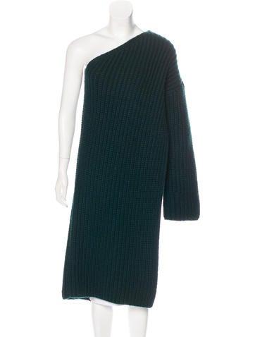 Stella McCartney One-Shoulder Wool Sweater None