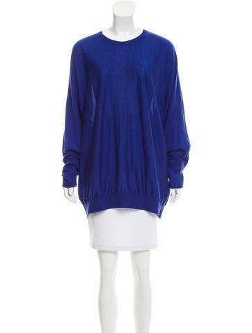 Stella McCartney Wool Oversize Sweater None