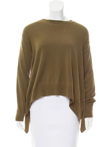 Stella McCartney Virgin Wool Asymmetrical Sweater None