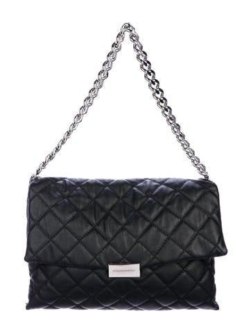 Stella McCartney Medium Quilted Beckett Bag None
