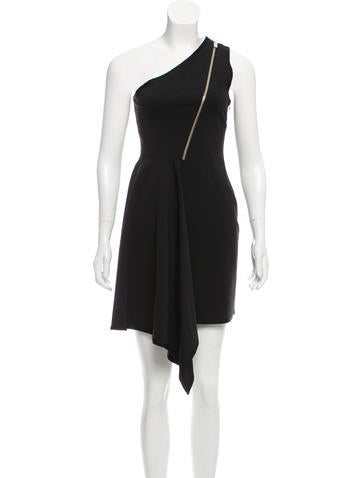 Stella McCartney One-Shoulder Knee-Length Dress None