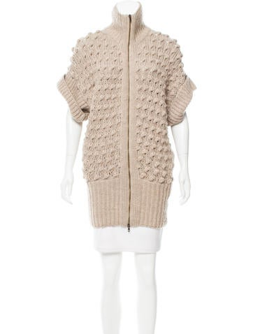 Stella McCartney Wool Knit Cardigan None
