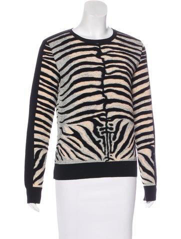 Stella McCartney Knit Long Sleeve Sweater None