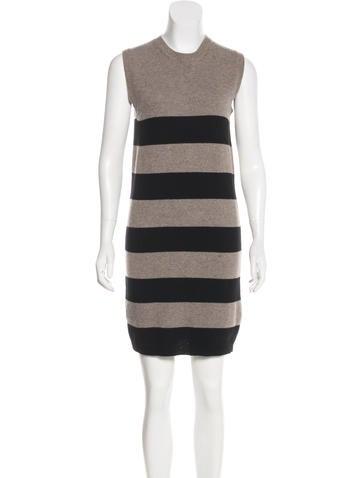 Stella McCartney Striped Wool Dress None