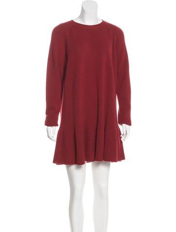 Stella McCartney Wool Mini Dress w/ Tags None