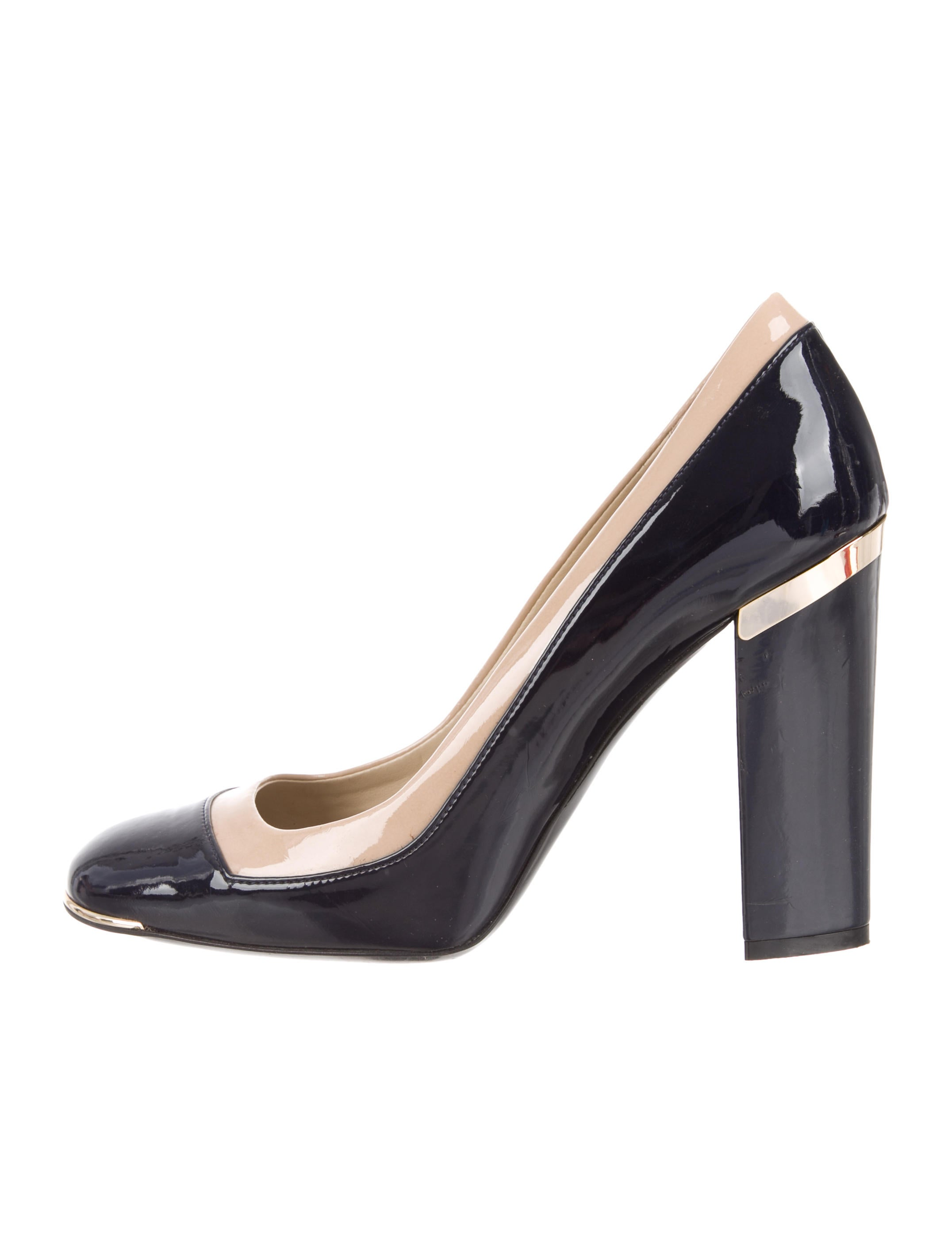 Stella McCartney Vegan Square-Toe Pumps fast delivery for sale authentic for sale discount big discount reliable sale cost hM5UCc