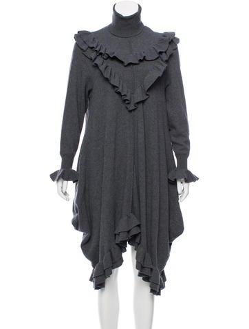 Stella McCartney 2016 Ruffled Dress None