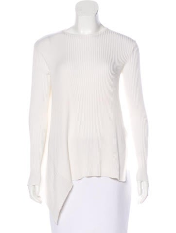 Stella McCartney Wool Rib Knit Top None