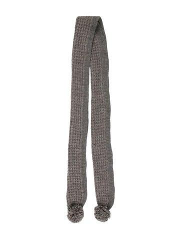 Stella McCartney Rib Knit Scarf None