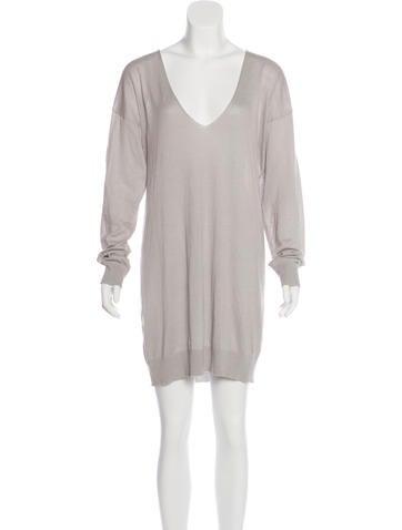 Stella McCartney Knit Sweater Dress None