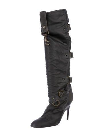 Stella McCartney Multistrap Knee-High Boots cheap sale 100% authentic BNyueK04