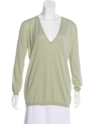 Stella McCartney Knit V-Neck Sweater None