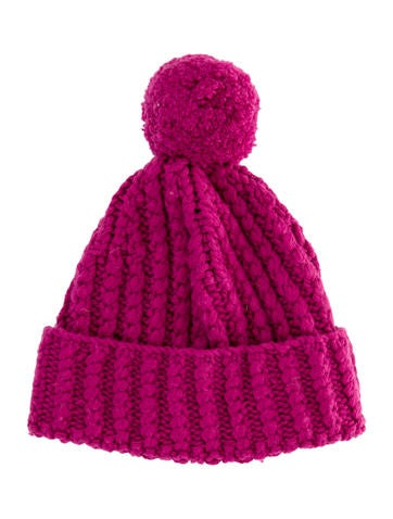 Stella McCartney Girls' Wool Pom-Pom Hat None