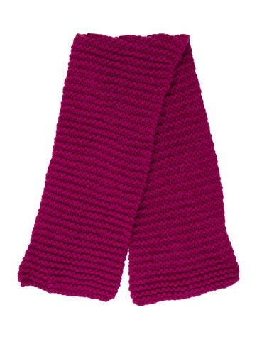Stella McCartney Girls' Wool Cable Knit Scarf None