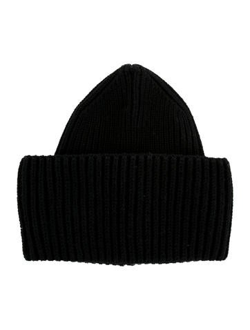 Stella McCartney Rib Knit Wool Beanie None