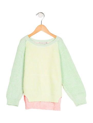 Stella McCartney Girls' Knit Long Sleeve Sweater None