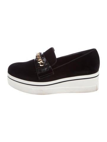 buy cheap sneakernews Stella McCartney Chain-Link Vegan Platform Sneakers cheap sale finishline extremely online sale buy fRBOQpDi
