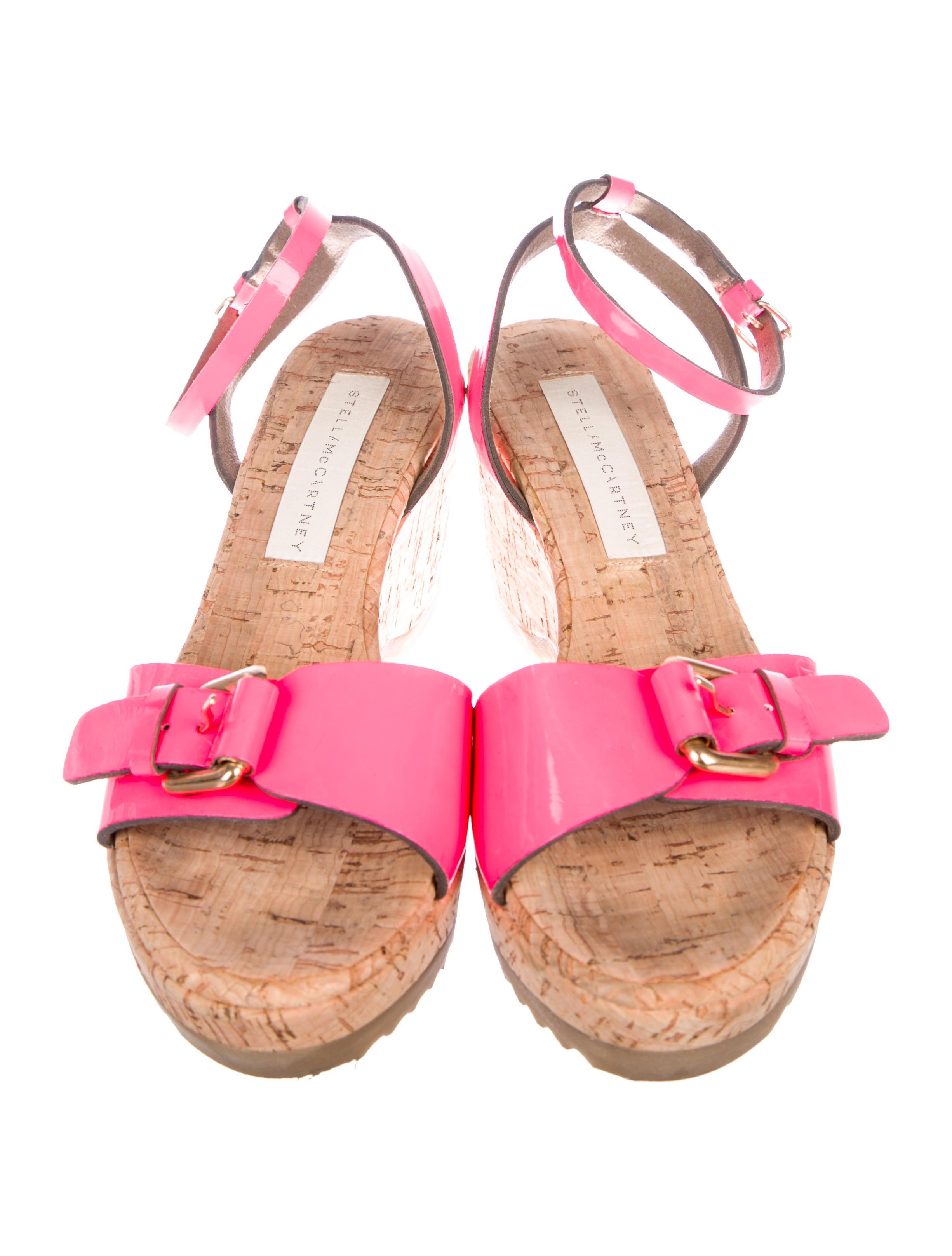 Stella McCartney Vegan Semi-Wedge Platform Sandals huge surprise cheap price t7YjROF