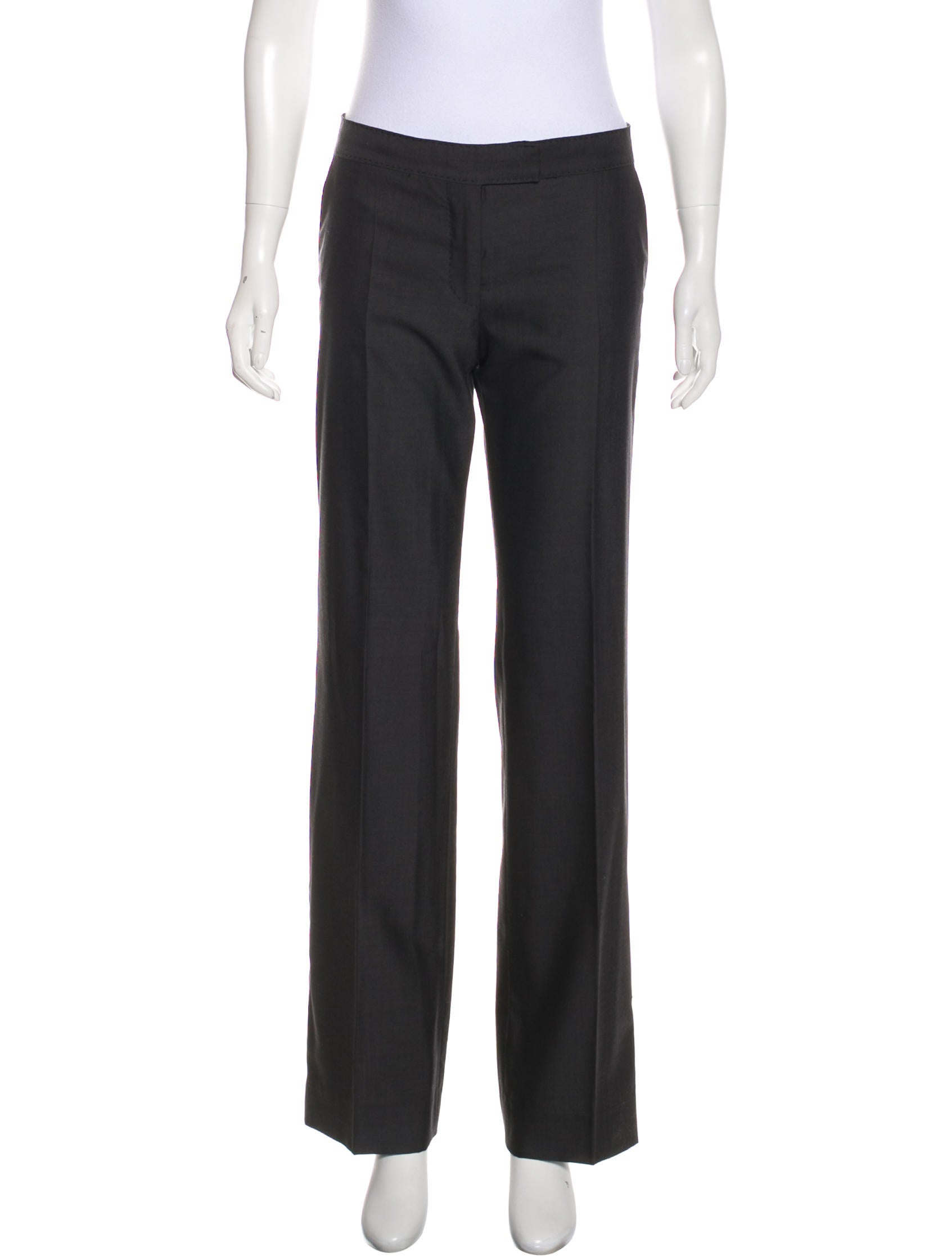 Stella McCartney Mid-Rise Wide-Leg Pants New Styles Cheap Price b9JgK