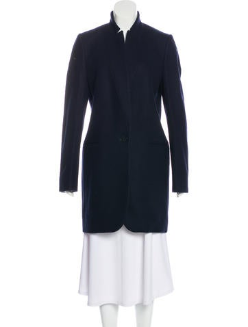 Stella Mc Cartney Wool Knee Length Coat by Stella Mc Cartney