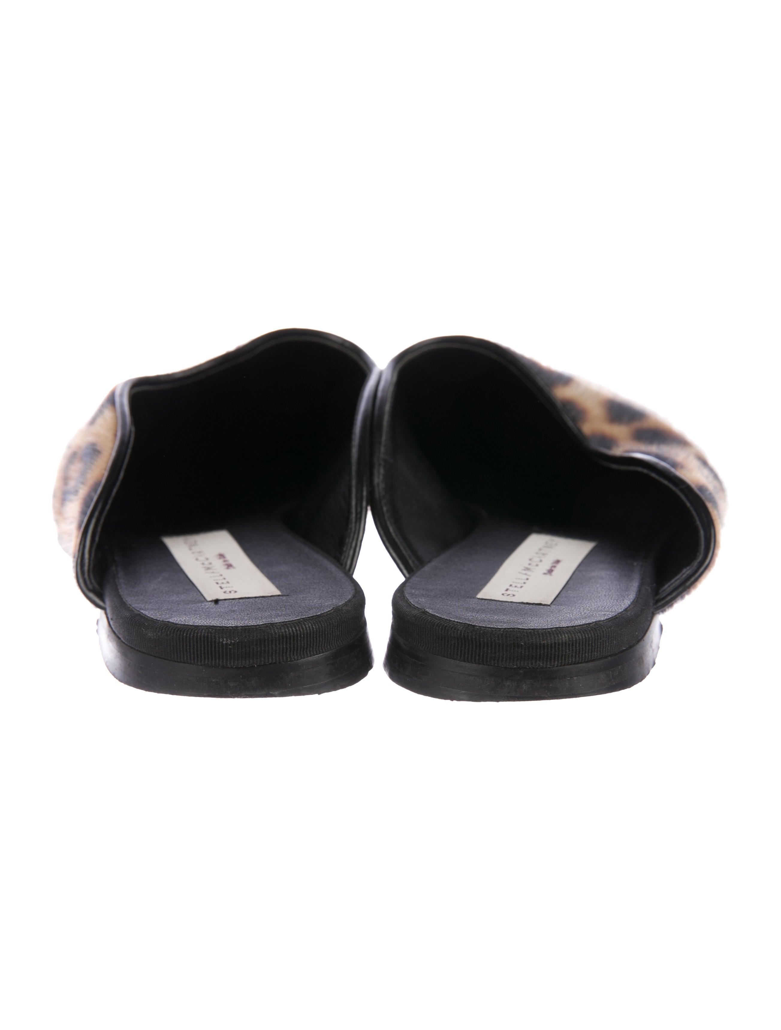 Stella McCartney Faux-Fur Square-Toe Mules outlet for cheap free shipping wiki hxBkWqFwVX