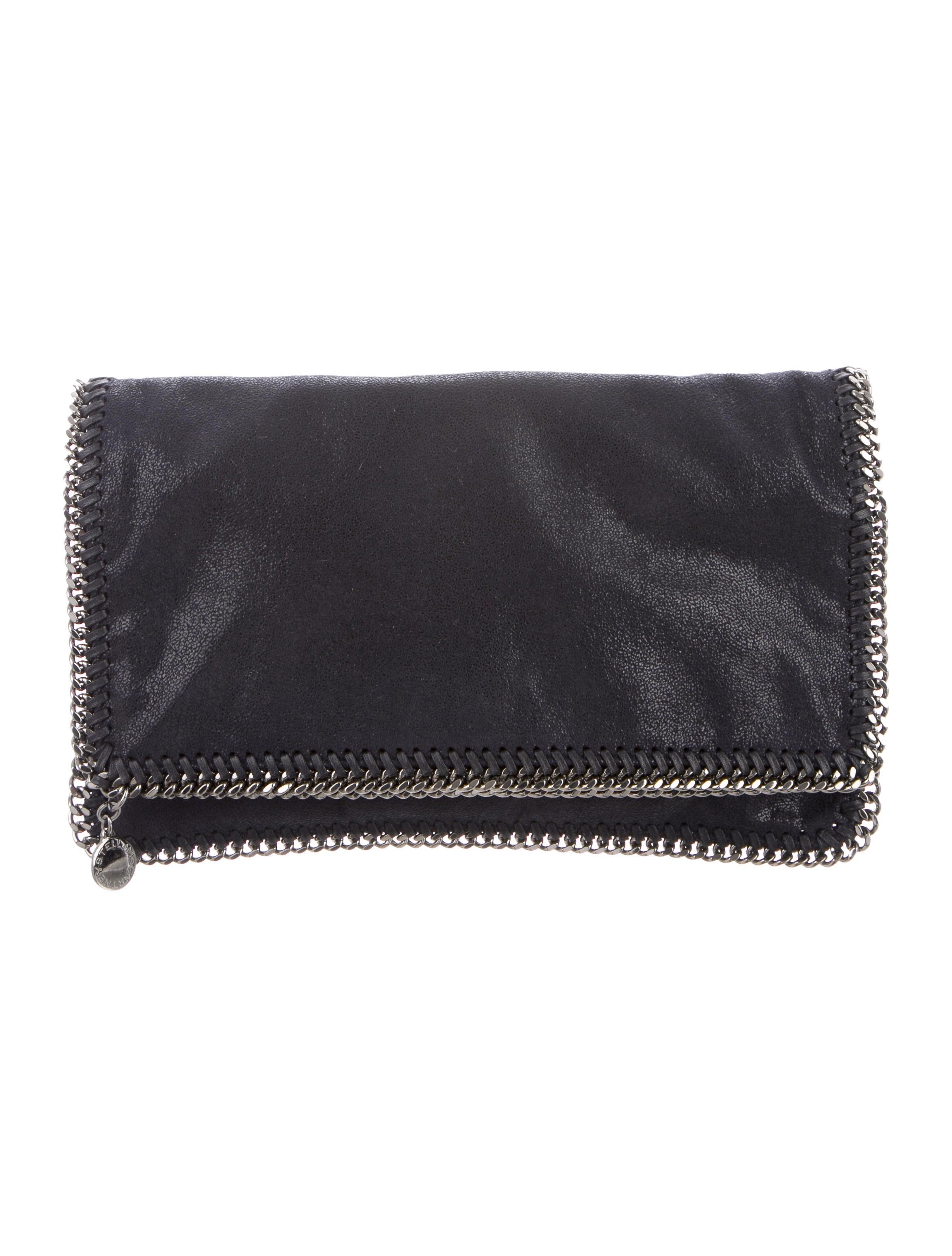 7db33fedd3588f Stella McCartney. Falabella Fold-Over Clutch. $525.00. Chanel. CC  Continental Wallet. $238.50. XL Gentle Boy Flap ...