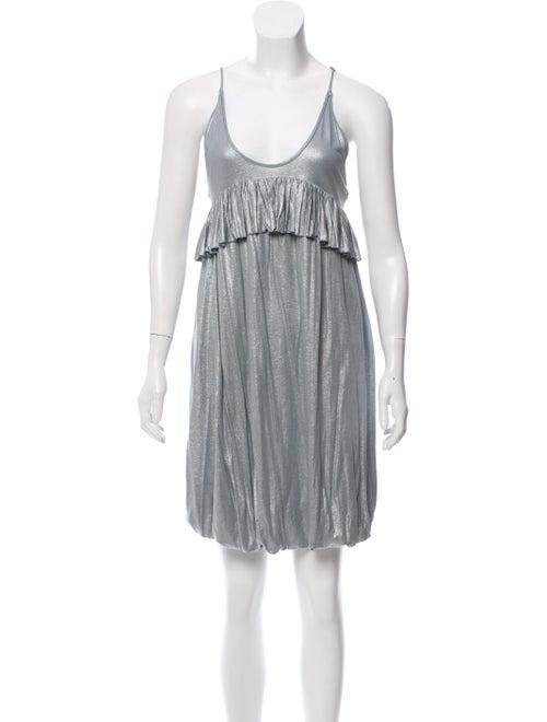 f6d546fb631a Stella McCartney Metallic Mini Dress w/ Tags - Clothing - STL78084 ...