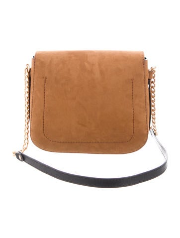 adfd2d6862 Stella McCartney Vegan Suede Shoulder Bag - Handbags - STL82665 ...