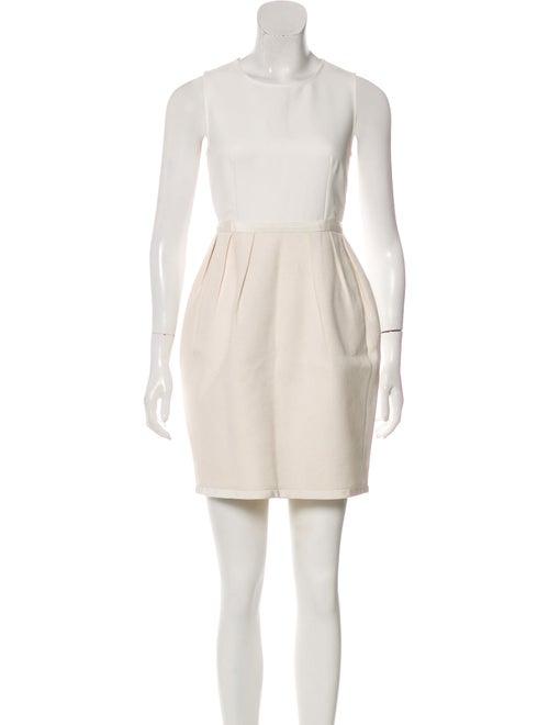 Stella McCartney Sleeveless Mini Dress White