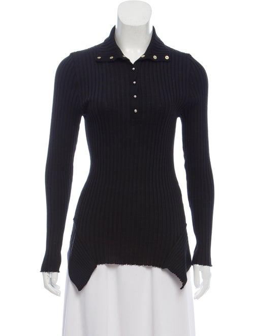 8e6126c2175 Stella McCartney Wool-Silk Rib Knit Sweater - Clothing - STL89156 ...