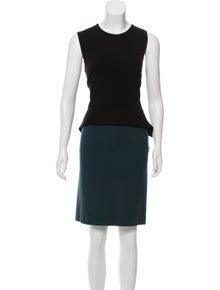 c1dd81e947 Stella McCartney. Colorblock Mini Dress