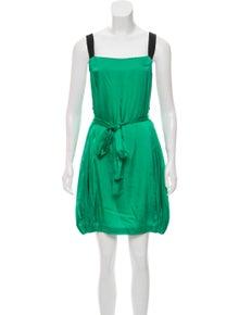 acf3531b287 Stella McCartney. Satin Mini Dress