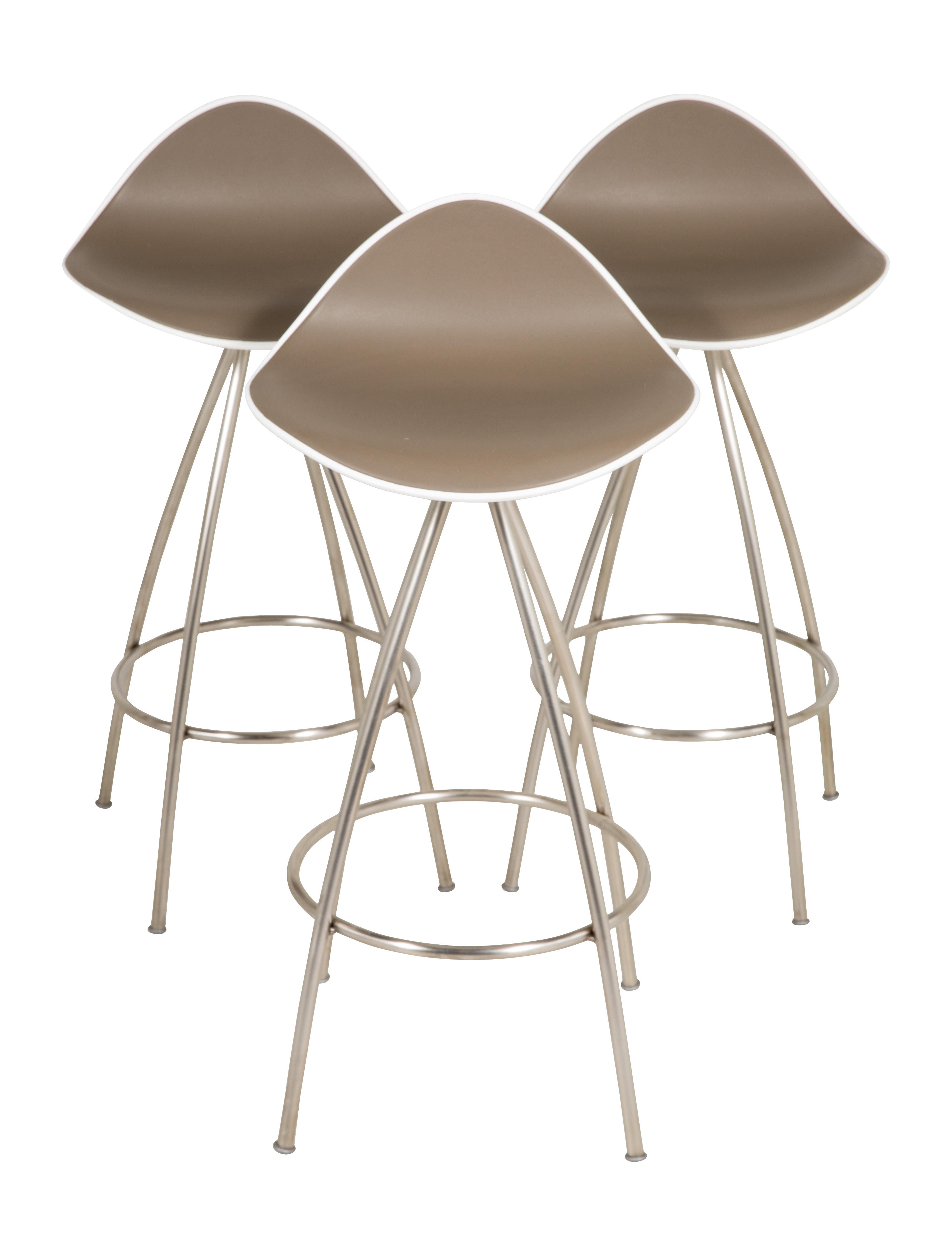 Stua set of three onda counter stools furniture stuaa20007 the realreal - Onda counter stool ...