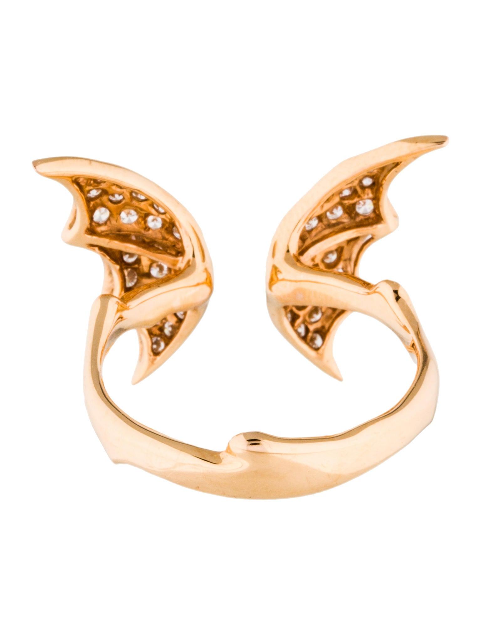 Stephen Webster 18K Diamond Fly By Night Ring Rings