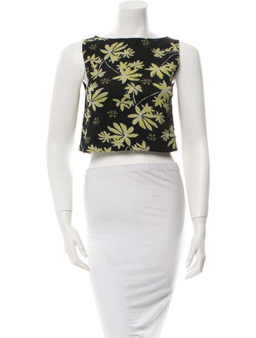Suno Knit Crop Top None