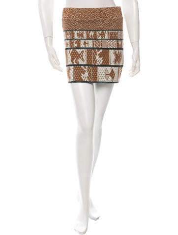 Suno Knit Mini Skirt None