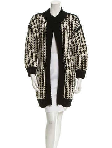 Suno Knit Long Line Cardigan None