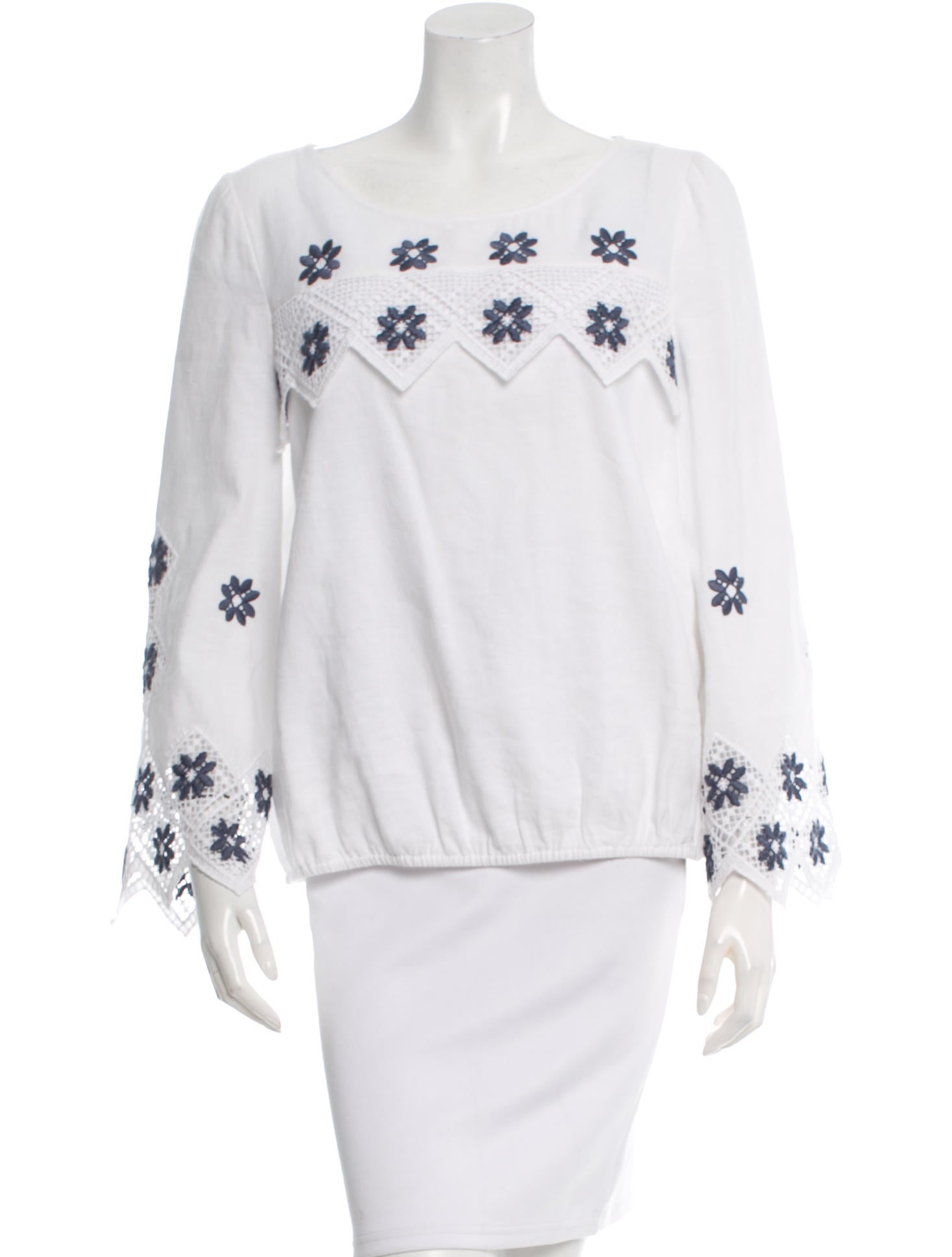 Suno embroidered blouson blouse w tags clothing