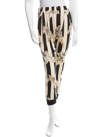 Suno Printed High-Rise Joggers None