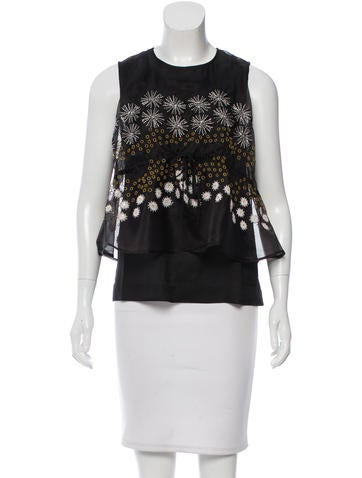 Suno Sleeveless Embellished Top w/ Tags None