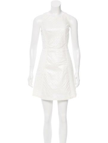 Suno Eyelet A-Line Dress w/ Tags