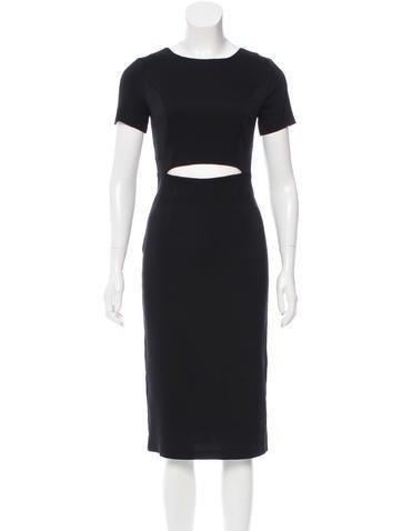 Suno Cutout Silk Dress w/ Tags