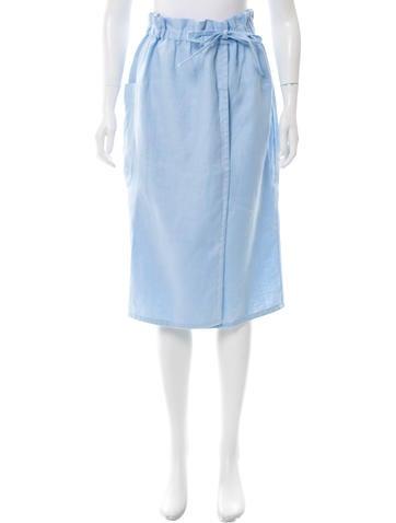 suno a line wrap skirt clothing sun22970 the realreal
